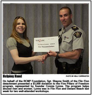 RCMP-cheque-Connie Lynne